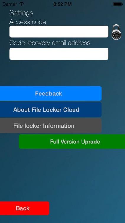 File Locker Free screenshot-3