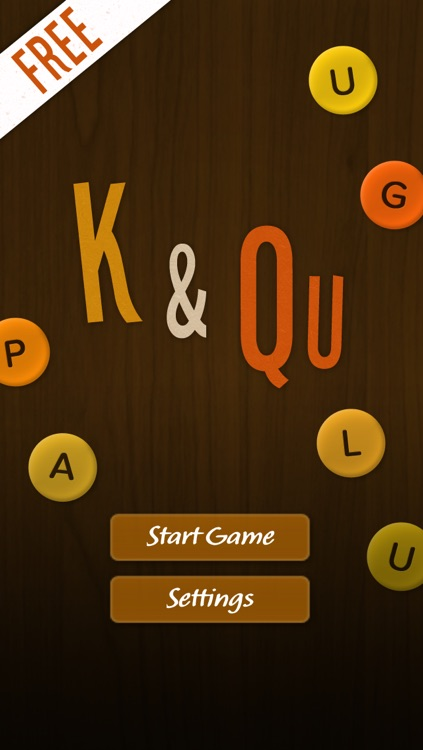 K and Q - criss cross words (FREE)
