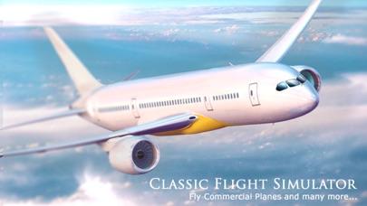 飛行機航空機シミュレータレーシング飛行SIM 3Dのおすすめ画像1