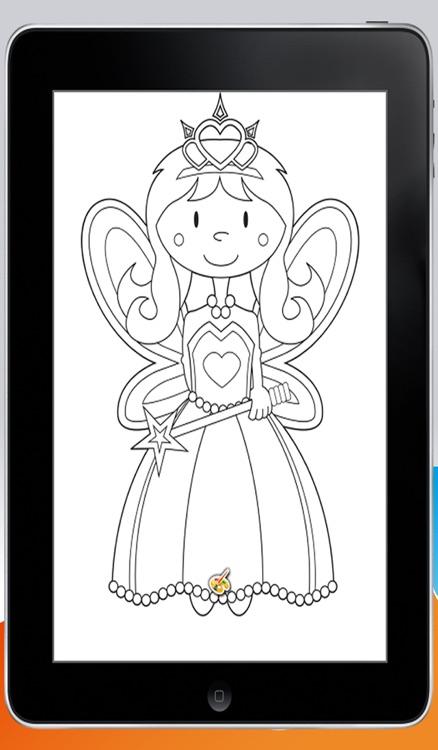 Coloring Book / Princess