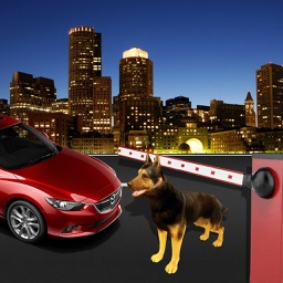 Security Police Dog Sniffer Simulator : Help forces secure the city from criminals