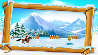 Canadian Mounted Police Horse Training : The Agility Test Racing Course - Free-3
