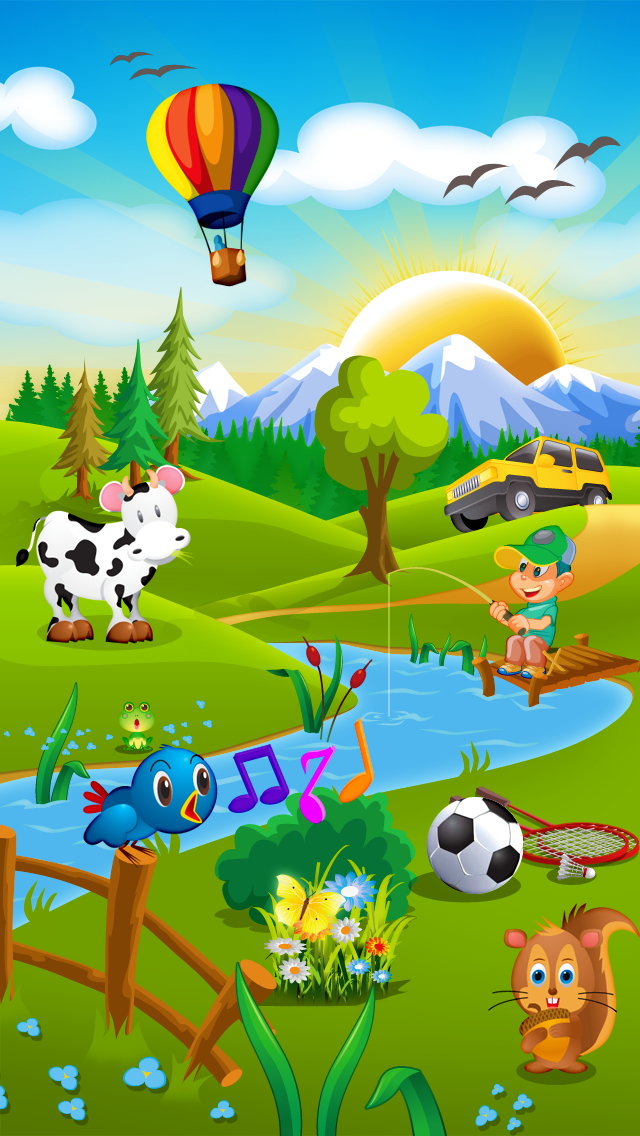 Swedish for kids: play, learn and discover the world - children learn a language through play activities: fun quizzes, flash card games and puzzles Screenshot