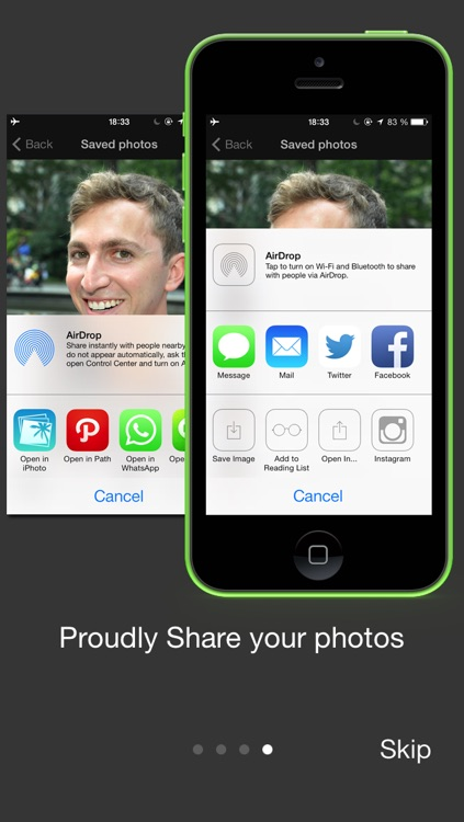 Camera Smile Detection - Photo Editor, Filters & Effects screenshot-3