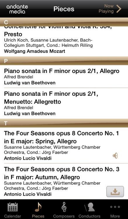ClassiCal Music Calendar screenshot-4
