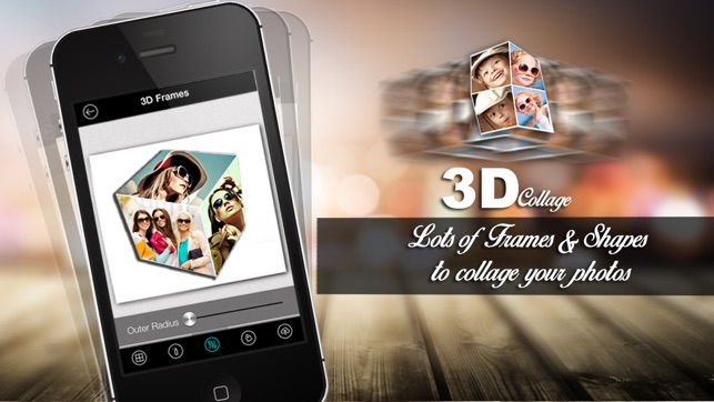 3D Collage - Free 3d & 2d magazine Collage Frame creator en App Store