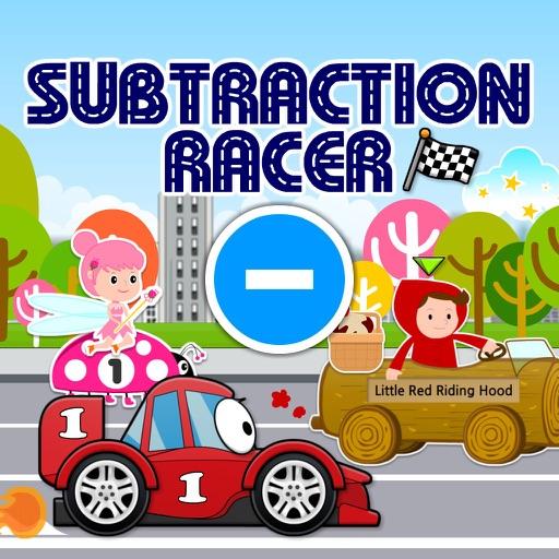 Subtraction Racer: Hot Cars, Fast Fairies & Fairy Tale Dash HD