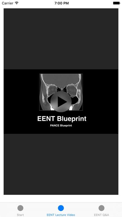 EENT Blueprint PANCE PANRE Review Course