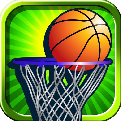 A Flick It Toss It Throw It Basketball Pro Game Full Version icon