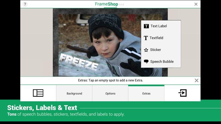 FrameShop - Photo Frame Editor HD screenshot-3