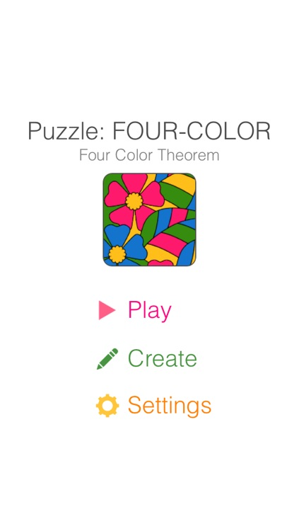 FourColor : Puzzle of Four Color Theorem screenshot-0