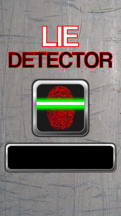 Lie Detector Scanner - Fingerprint Truth or Lying Touch