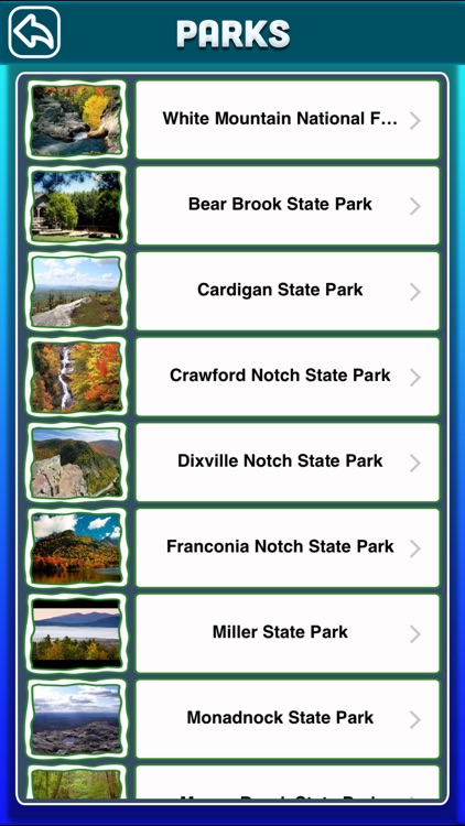 New Hampshire National & State Parks