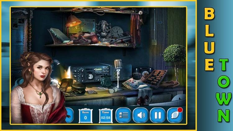 Hidden Object : Hidden Objects Blue Town screenshot-3