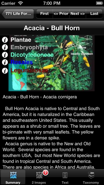 Trees, Shrubs and Vines of North America - eTreesNA - A Tree App