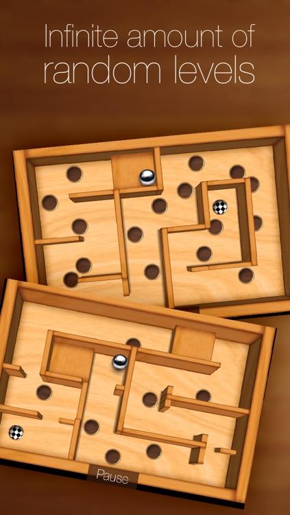 Wooden Labyrinth 3D Free screenshot-3