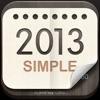 탁상달력2013 : 심플캘린더