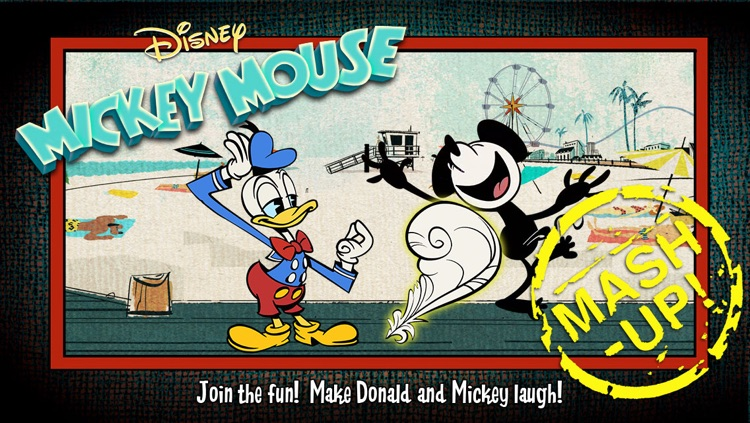 Mickey Mouse: Mash-Up