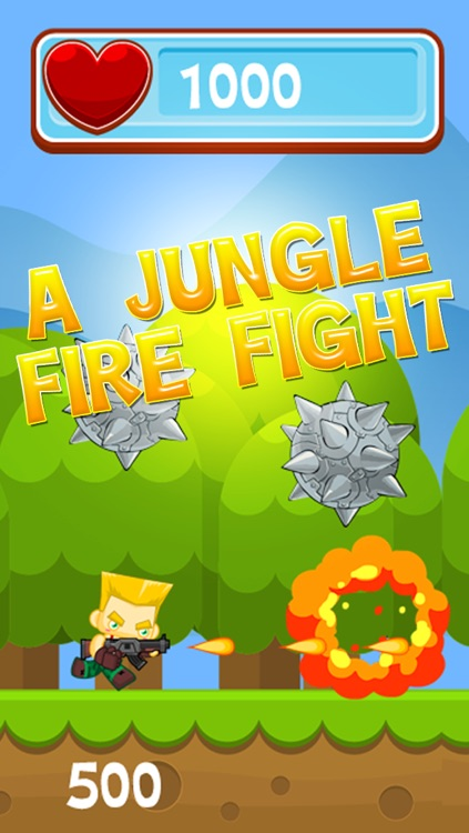 A Jungle Fire Fight – Soldier Battle Jump & Run Fun