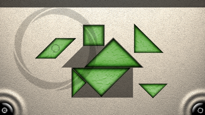 TanZen - Relaxing tangram puzzles screenshot one