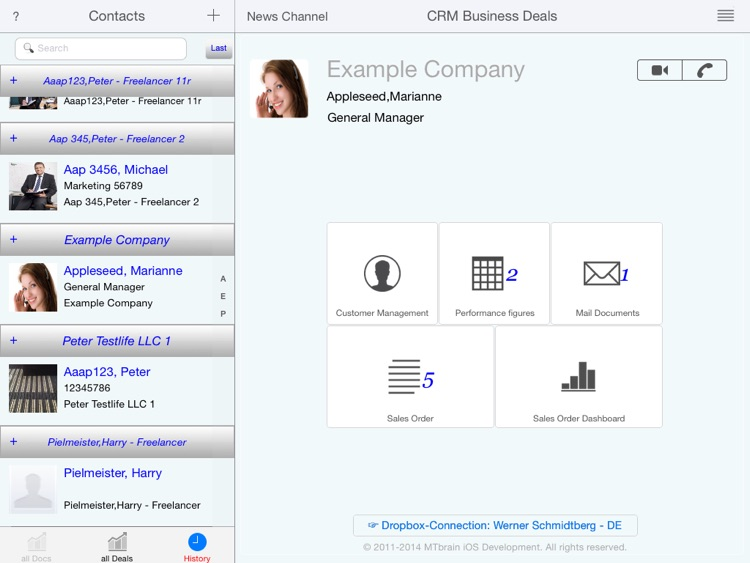 CRM Business Deals