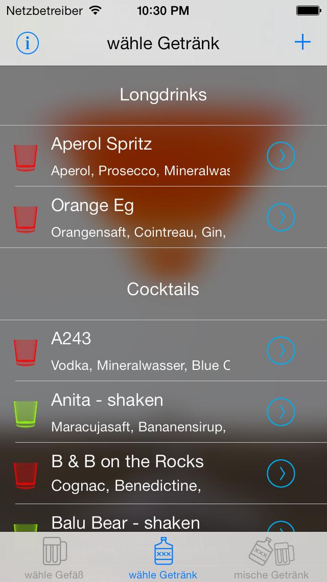 Screenshot for Cocktails - Virtueller Drink Mixer und Rezepte in Germany App Store