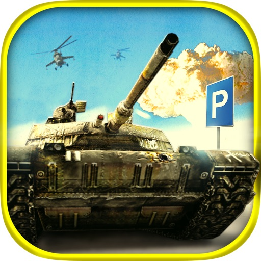 3D Trucker: Army Tanks Simulator Pro - Driving, Racing And Parking Simulation of Modern Army Tank and Military Truck icon