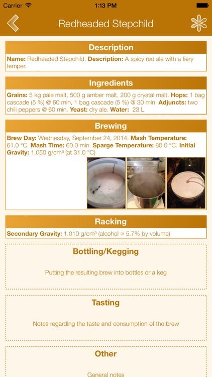 Beer Lab Notebook