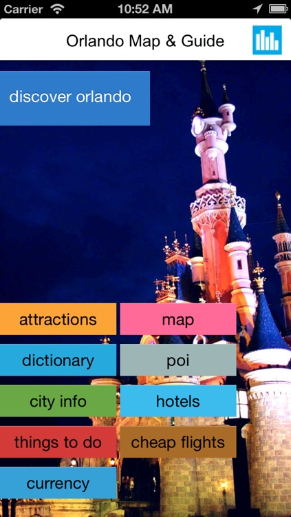 Orlando & Walt Disney World Resort offline map, guide, hotels