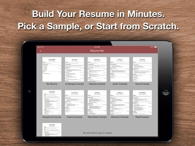 Good Resume Star: Pro CV Maker And Resume Designer With PDF Output To Help You  Score That Job Interview And Advance Your Career On The App Store With Resume Star