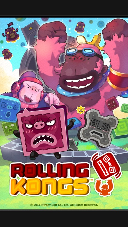 Rolling Kongs