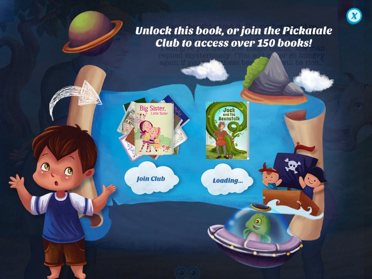 Jack and the Beanstalk - Have fun with Pickatale while learning how to read. screenshot-4
