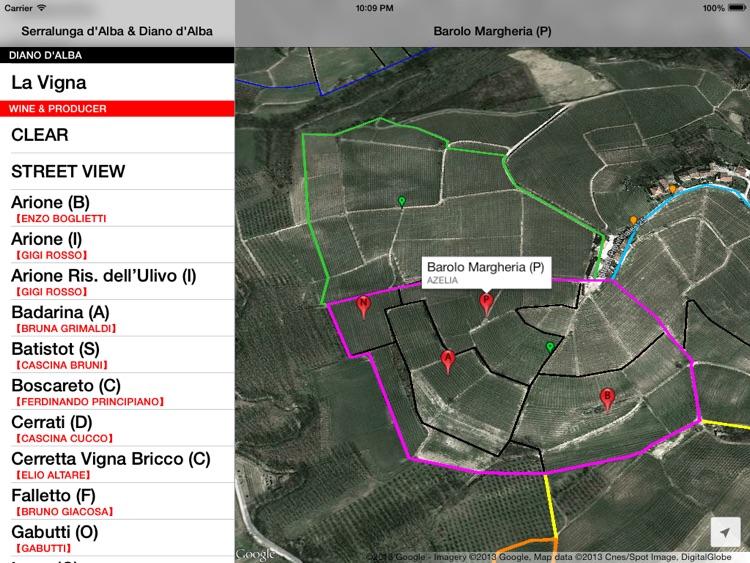 Serralunga & Diano d'Alba Wine Map screenshot-3