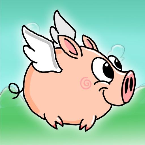 Flap Flap Piggy - Super Flappy Flying Edition