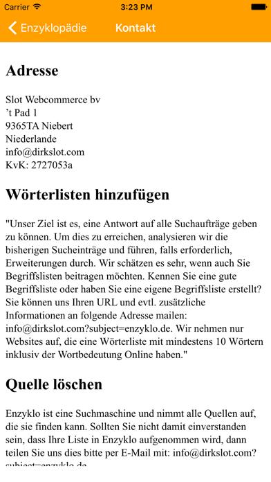 Enzyklopädie (DE) screenshot three