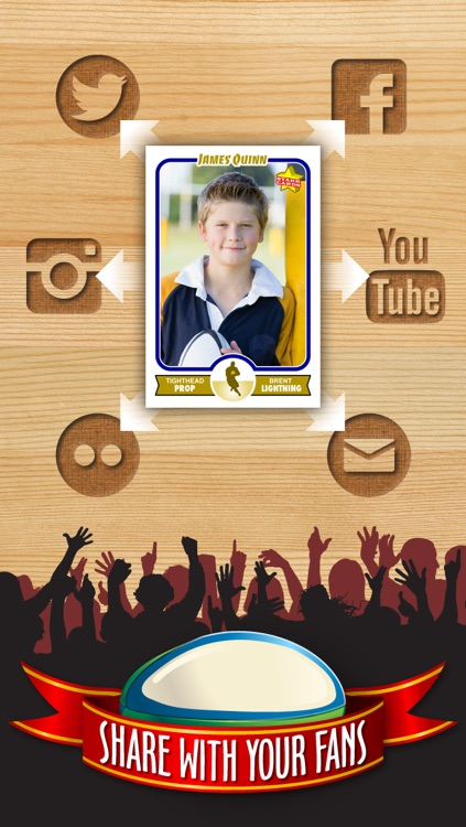 Rugby Card Maker - Make Your Own Custom Rugby Cards with Starr Cards screenshot-3