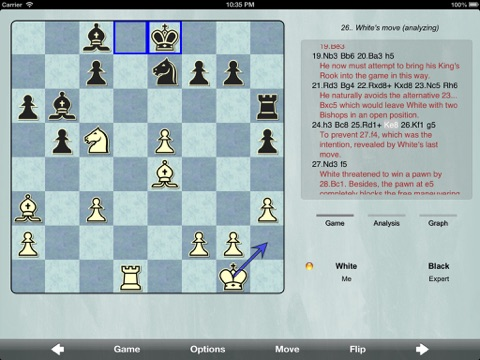 Screenshot #5 pour SmallFish Chess For iOS 6 - Free & Friends