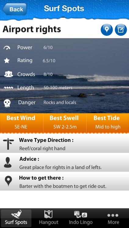 Bali Surf Guide screenshot-3