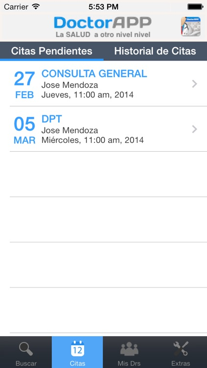 DoctorAPP, SALUD a otro nivel screenshot-2