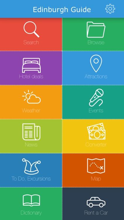 Edinburgh (Scotland) Guide, Map, Weather, Hotels.