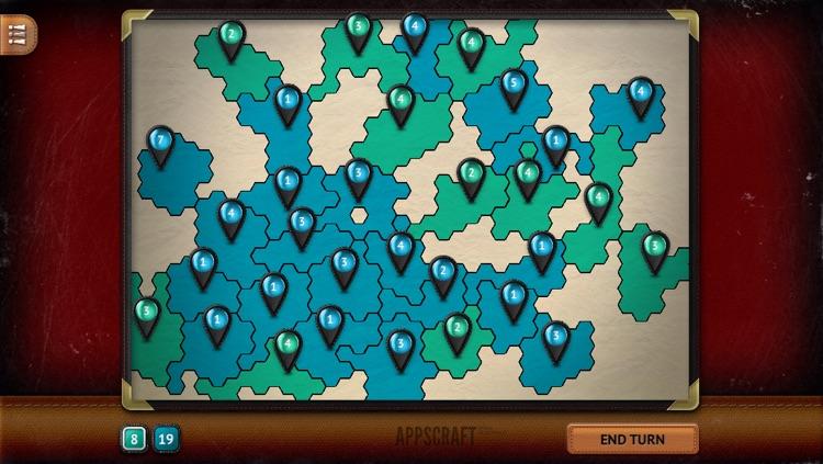 Hexagon Wars screenshot-4