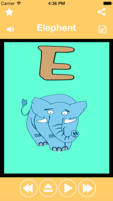 A-Z Animals Name for kids Educational Activity To Teach Names Of Popular Animals By Abcのおすすめ画像2