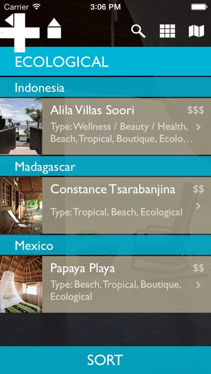 Cool Escapes Beach Resorts screenshot-1