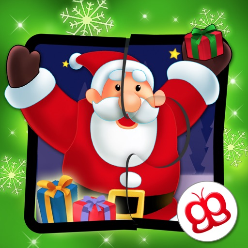 Christmas Jigsaw Puzzles 123 for iPad - Fun Learning Game for Kids icon
