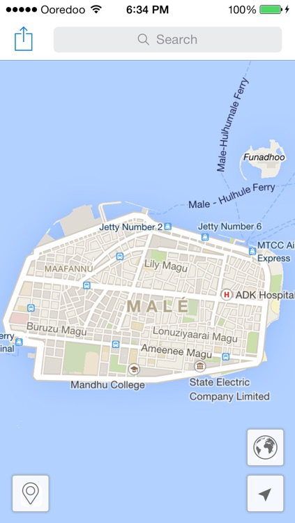 Male' Map