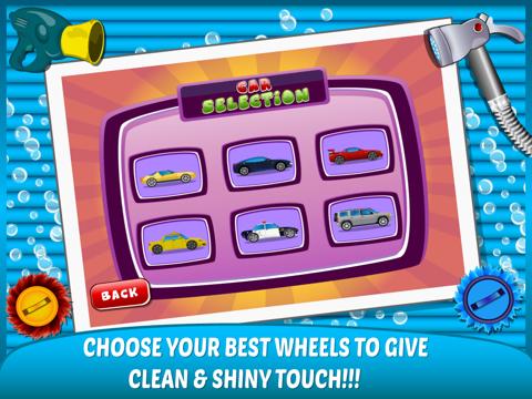 Little Car Wash –washing up free kids Games-ipad-3