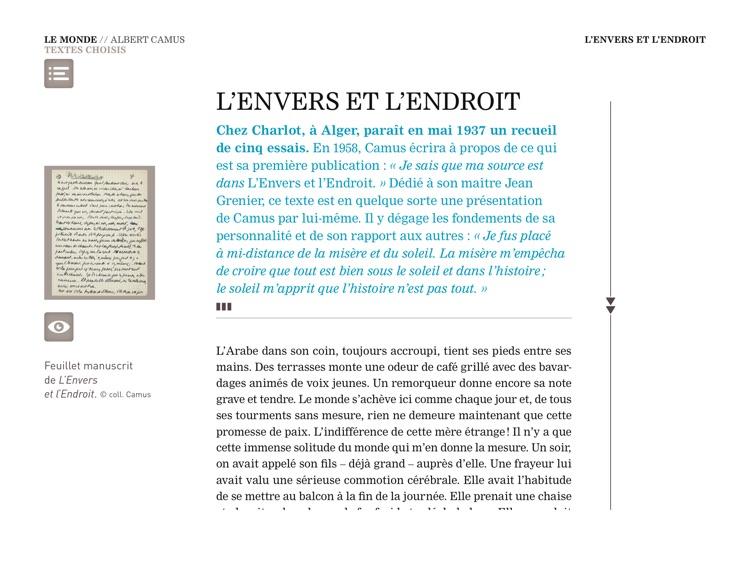 Camus, La révolte et la liberté screenshot-3