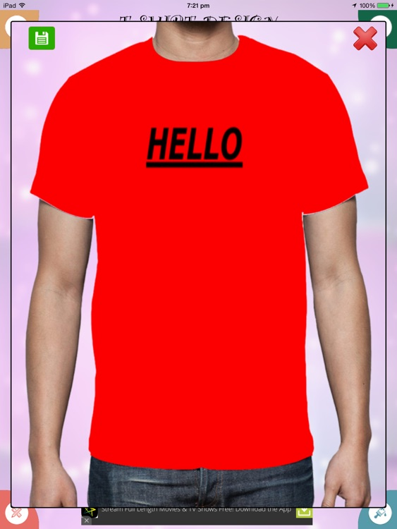 T-Shirt Design screenshot-3