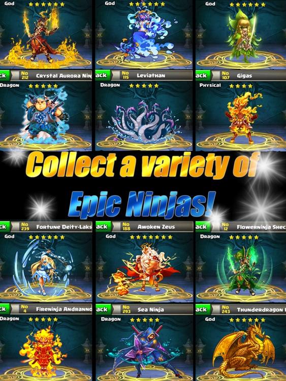 Ace Ninja Battles HD screenshot-4