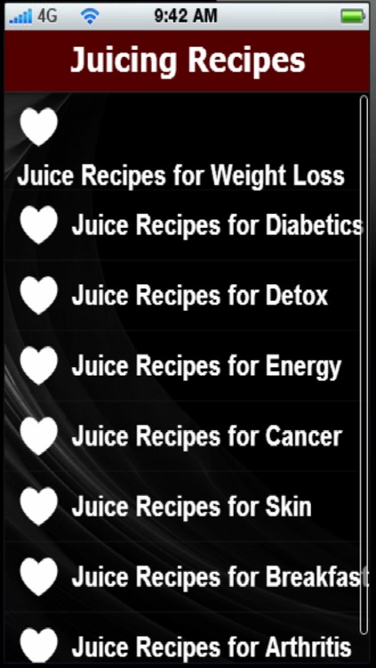 Juicing Recipes: Juicing For a Healthier Lifestyle screenshot-1